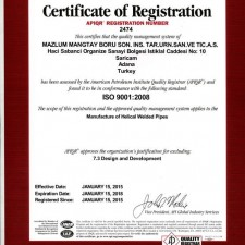 API ISO 9001