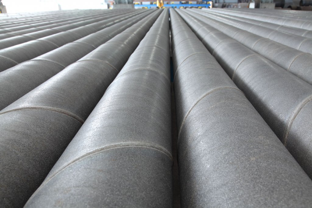 COATING & LINING   Spirally welded steel pipes,spiral pipes